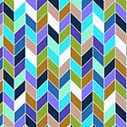 Geo pattern_blues by kellabell9