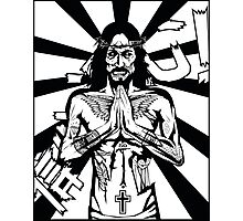 Zombie Jesus Photographic Print