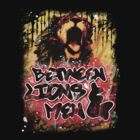 BL&M - Graffiti Lion by betweenlionsmen