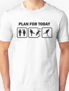 Funny Scuba Diving Plan For Today T Shirt T-Shirt