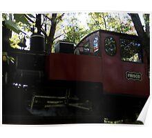 Steam Engine Train Poster