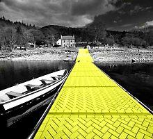 Yellow Brick Path  by Rob Hawkins