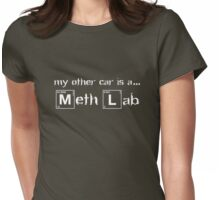 My Other Car Is A Meth Lab - Breaking Bad Womens Fitted T-Shirt