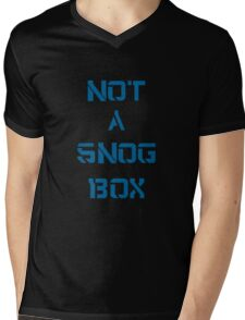 Doctor Who: NOT A SNOG BOX  Mens V-Neck T-Shirt