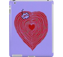 The State of LOVE iPad Case/Skin