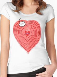 The State of LOVE Women's Fitted Scoop T-Shirt