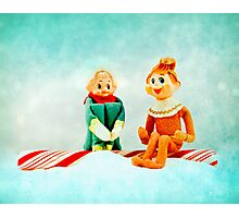 Elf First Date Photographic Print