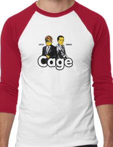 Cage (Version 2) Men's Baseball ¾ T-Shirt