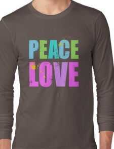 Inked Peace and Love Long Sleeve T-Shirt