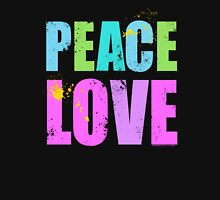 Inked Peace and Love Womens Fitted T-Shirt