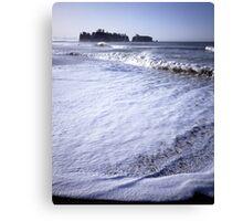 James Island from Rialto Beach, Olympic National Park, Washington Canvas Print