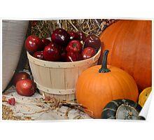 Autumn's Bounty Poster