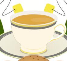 Drink Tea Every Day Sticker
