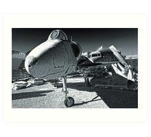 Douglas Skyhawk A-4B Art Print