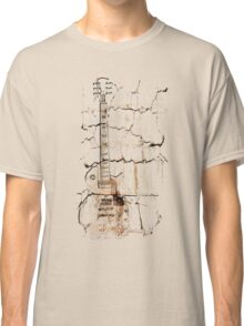 guitar cracks Classic T-Shirt