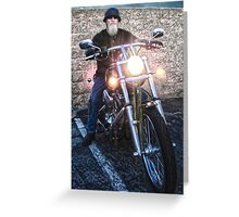 Rider on the Storm Greeting Card