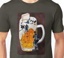 █ ♥ █  HOCKEY THE SPIRIT OF CANADIANS CHEERS-BEER HOCKEY TEE SHIRT █ ♥ █  Unisex T-Shirt