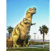 Big Fake Dinosaur #06 Photographic Print