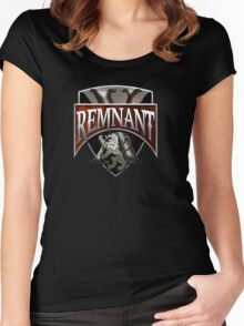 Remnant X Radio Women's Fitted Scoop T-Shirt