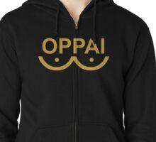 One Punch Man - Oppai Zipped Hoodie