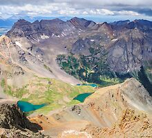 Blue Lakes from Sneffels by Aaron Spong