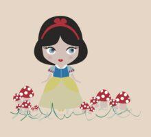 Snow White in the mushroom land by cariyorker