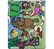 Teddy Bear And Bunny - Remote Control iPad Case/Skin