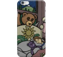 Teddy Bear And Bunny - Jealous iPhone Case/Skin