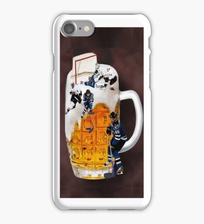 █ ♥ █ SPIRIT OF HOCKEY-BEER HOCKEY IPHONE CASE CHEERS █ ♥ █  iPhone Case/Skin