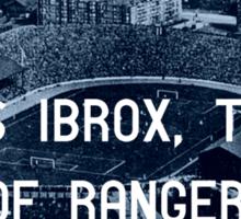 Rangers Football Club Sticker
