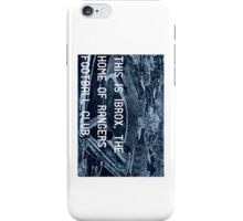 Rangers Football Club iPhone Case/Skin