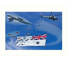 Aircraft from Sydney Navy Review Art Print