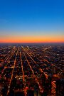 All Roads Lead... - Chicago Skyline by Mark Tisdale