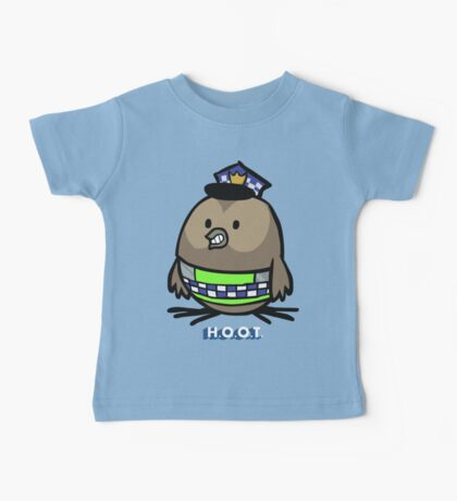Jerome, the Policing Owl: H.O.O.T. Baby Tee