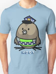 Jerome, the Policing Owl: H.O.O.T. T-Shirt