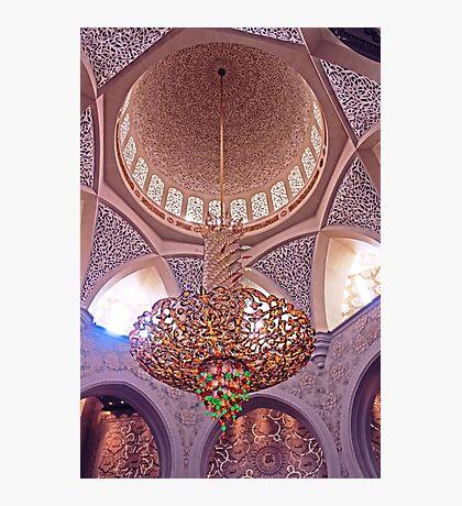 Mosque Chandelier Photographic Print