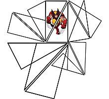 Wolverine Geometric Photographic Print