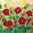 Mary's Red Poppies by Wendy Sinclair