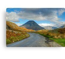 Road Trip - Wasdale Canvas Print