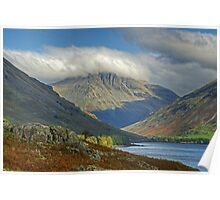 Great Gable From Wastwater Poster