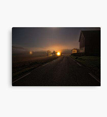 Nightroad Canvas Print