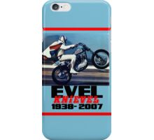 Evel Knievel 38-07 iPhone Case iPhone Case/Skin