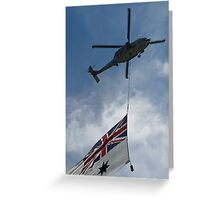 SeaHawk and Ensign Greeting Card