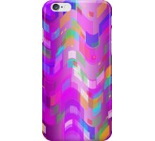 Squares and Waves iPhone Case/Skin