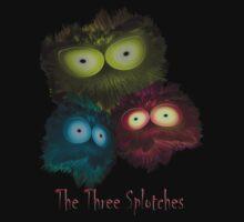Three Splotchies One Piece - Short Sleeve