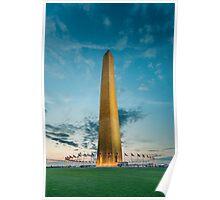 The Washington Monument Poster