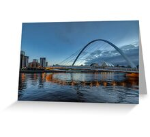 Millennium Bridge Newcastle Greeting Card