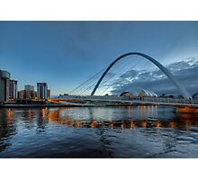 Millennium Bridge Newcastle Photographic Print
