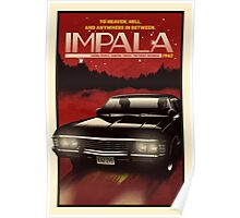 NOW BOARDING: Impala Poster
