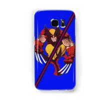 Wolverine Sliced (Geometric) Samsung Galaxy Case/Skin